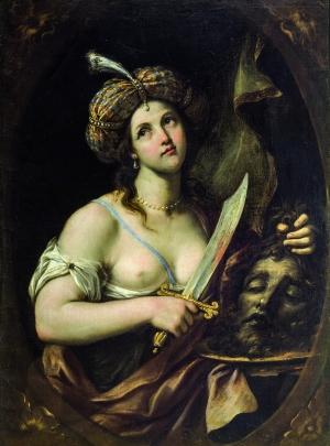 Paolo Gerolamo Piola Giuditta e Oloferne, olio su tela, cm 130 x 96 Stima € 10.000 – 15.000