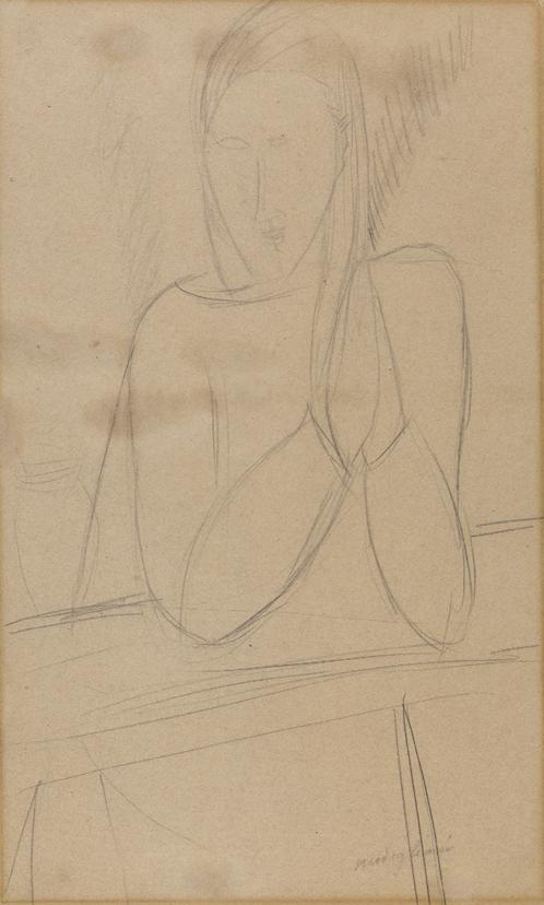Amedeo-Modigliani-Ragazza-mani-giunte