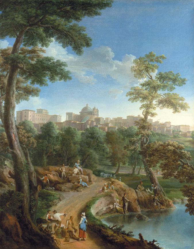Villa Chigi: gioiello Rococò