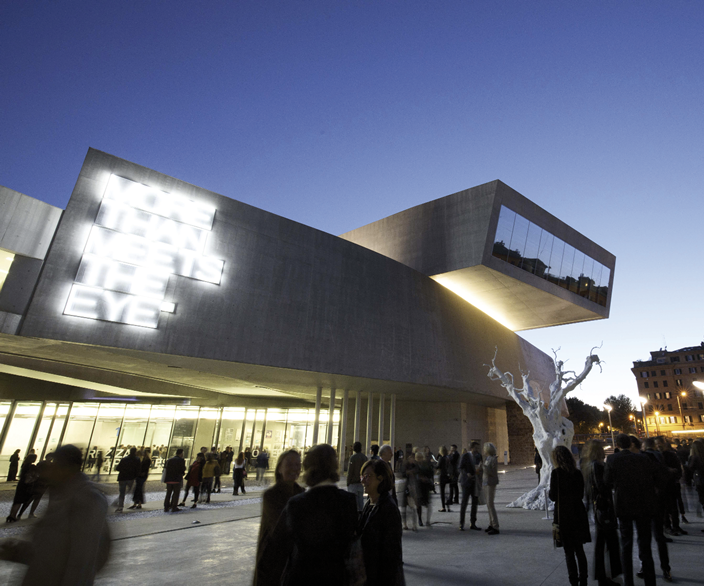 MAXXI. The power of art and beauty