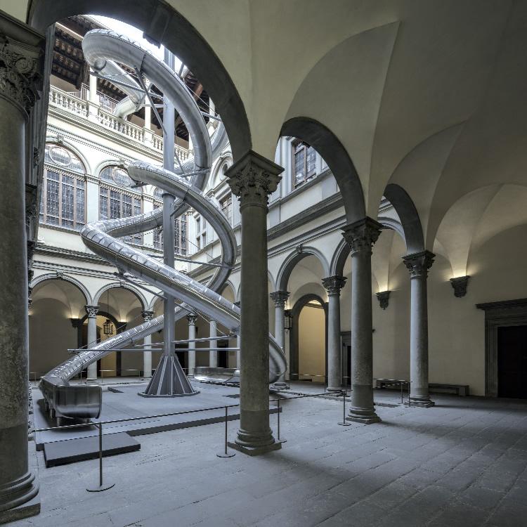 Palazzo Strozzi. Free to wander