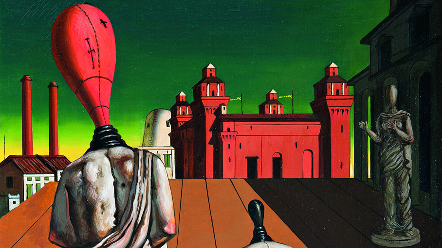 De Chirico. The accuracy of inaccuracy