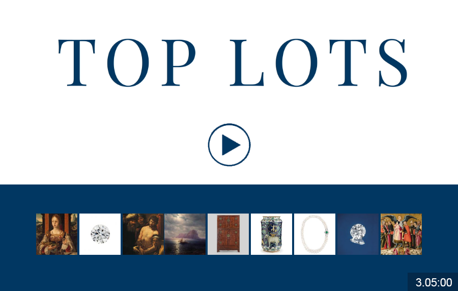 I TOP LOT di Wannenes Art Auctions