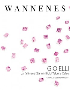 Jewellery from Giannini Boldi Teloni and Cafiso bankruptcy