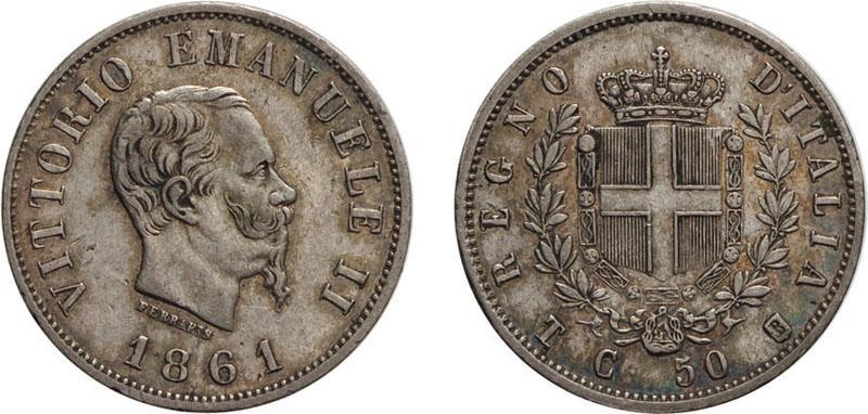 Lo stile di clemente ferrari esalta le aste wannenes di for Moneta 50 centesimi