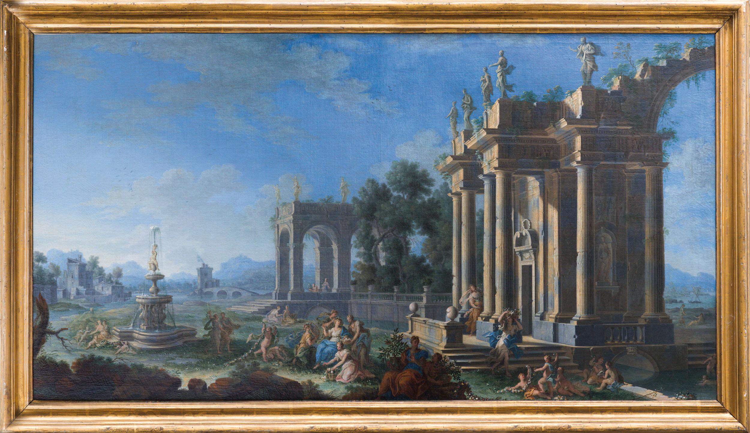 Gennaro greco detto il mascacotta wannenes art auctions for Acquisto mobili antichi napoli