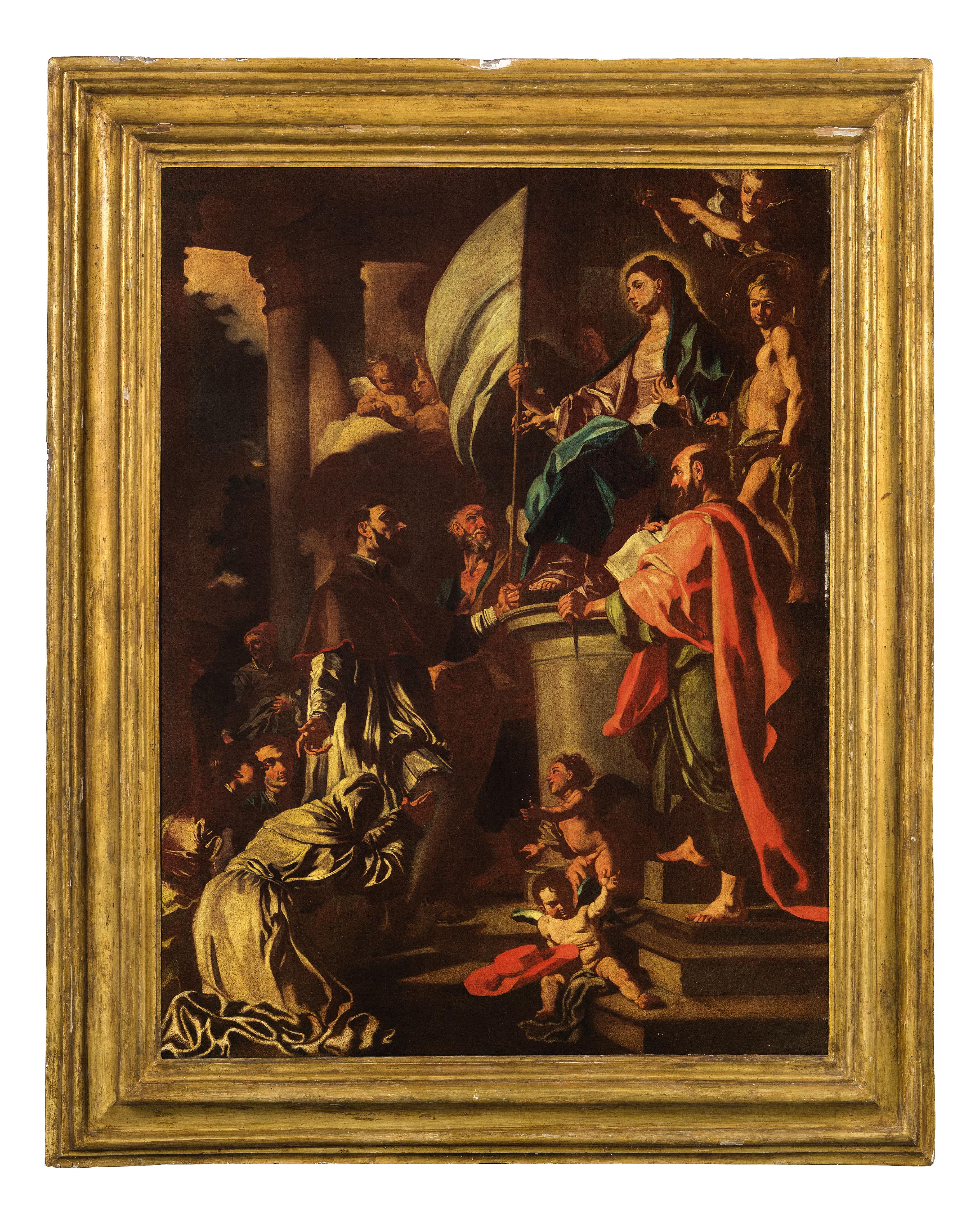 Francesco solimena bottega di wannenes art auctions casa d 39 aste a genova milano roma - Gonfalone mobili roma ...
