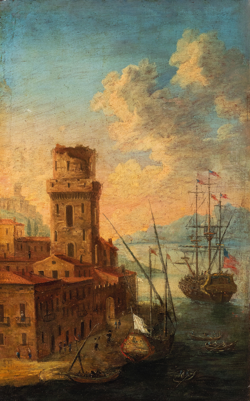 Pittore del xviii secolo wannenes art auctions casa d for Piani di fattoria del 19 secolo