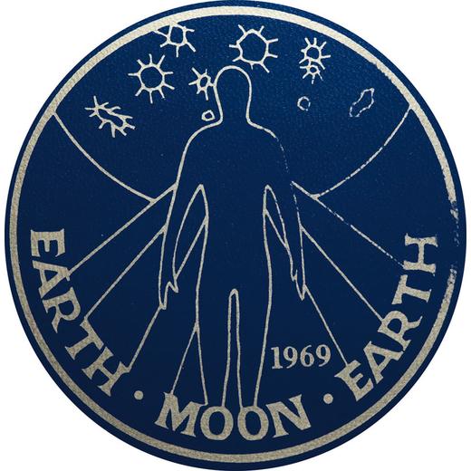 COFANETTO CON 5 MONETE DORO EARTH MOON EARTH 1969