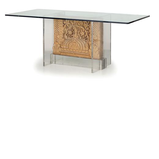 Tavoli In Pietra E Cristallo.Tavolo In Pietra E Cristallo Wannenes Art Auctions Casa D Aste