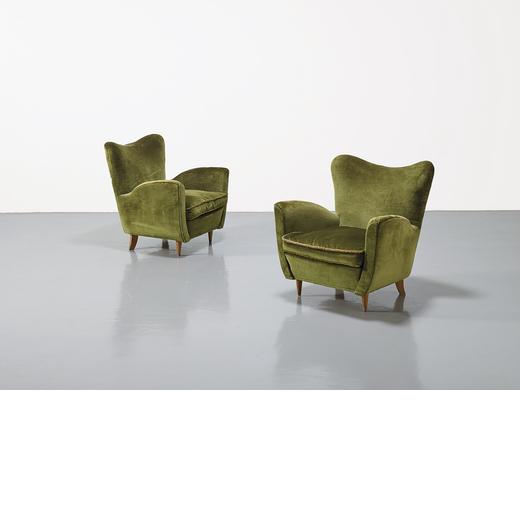 A Pair Of Italian Armchairs 2
