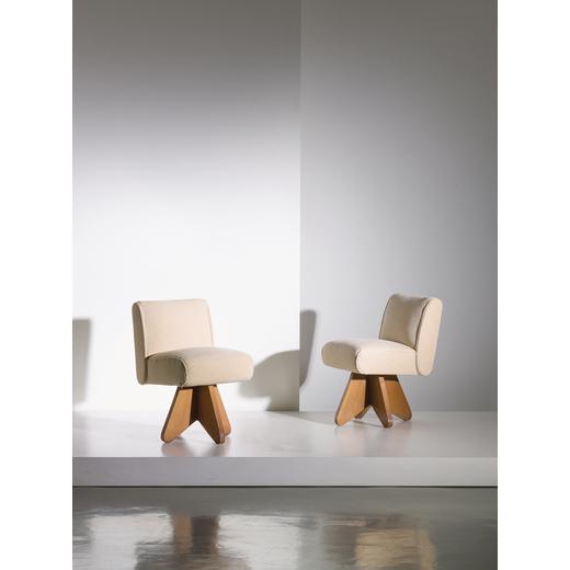 Manifattura Italiana Design.A Pair Of Italian Armchairs 2