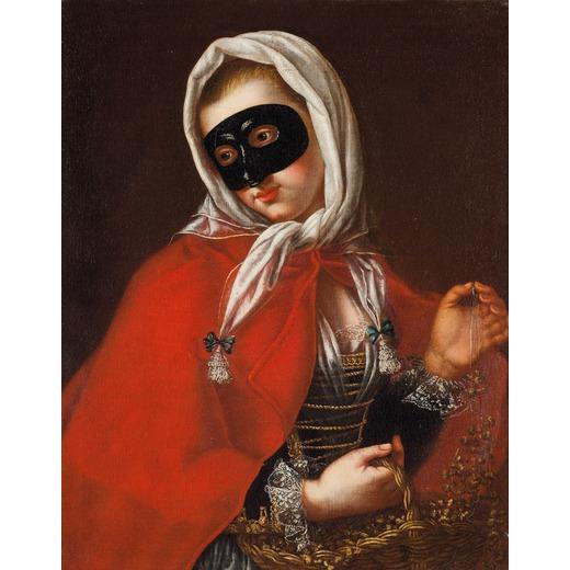 Ritratto di dama in maschera ( Portrait of a lady in mask)