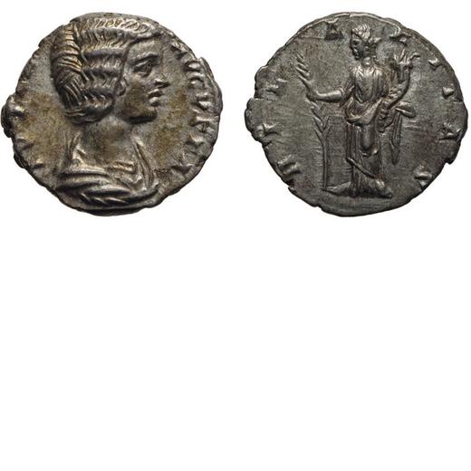 MONETE ROMANE IMPERIALI. GIULIA DOMNA, AUGUSTA (193-217). DENARIO. Coniato circa nel 196-202. Laodic