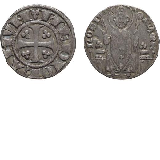 ZECCHE ITALIANE. MILANO, PRIMA REPUBBLICA (1250-1310). AMBROSINO PICCOLO Argento, 1,85 gr, 19,5 mm,