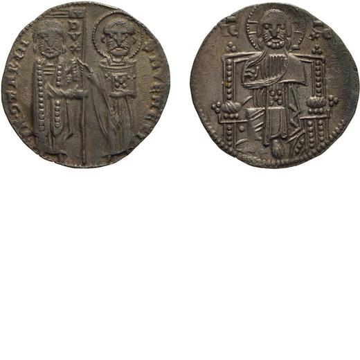 ZECCHE ITALIANE. VENEZIA. IACOPO CONTARINI (1275-1280). GROSSO Argento, 2,03 gr, 19 mm. qBB<br>D: IA