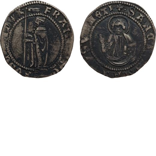 ZECCHE ITALIANE. VENEZIA. FRANCESCO FOSCARI (1423-1457). GROSSONE DA 8 SOLDI. Argento, 2,97 gr, 25 m