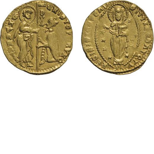 ZECCHE ITALIANE. VENEZIA. CRISTOFORO MORO (1462-1471). DUCATO Oro, 3,52 gr, 20 mm. BB+<br>D: CRISTOF