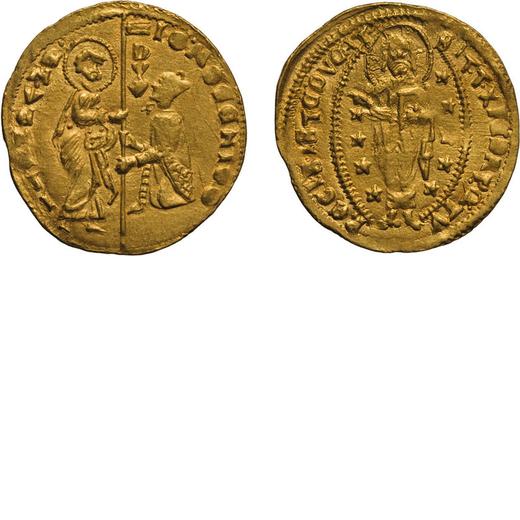 ZECCHE ITALIANE. VENEZIA. GIOVANNI MOCENIGO (1478-1485). DUCATO Oro, 3,53 gr, 22 mm. BB+. Rara.<br>D