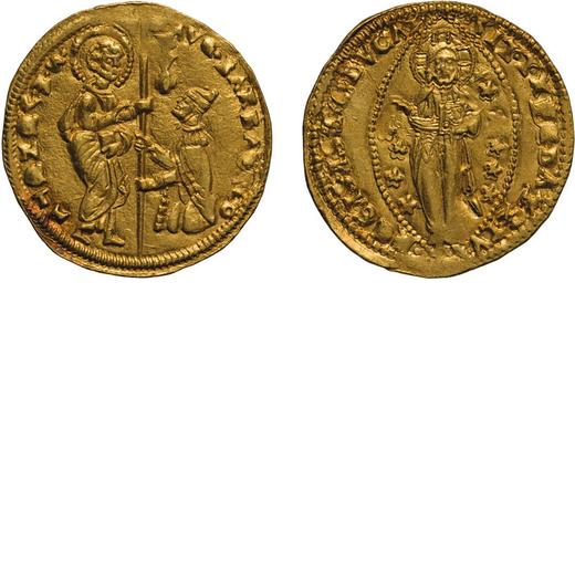 ZECCHE ITALIANE. VENEZIA. AGOSTINO BARBARIGO (1486-1501). DUCATO Oro, 3,54 gr, 22 mm. BB+<br>D: AVGV
