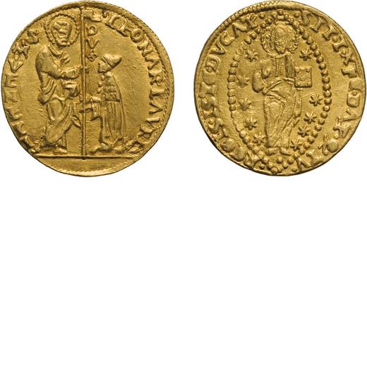 ZECCHE ITALIANE. VENEZIA. LEONARDO LOREDAN (1501-1521). DUCATO Oro, 3,49 gr, 21 mm. BB+<br>D: LEONAR