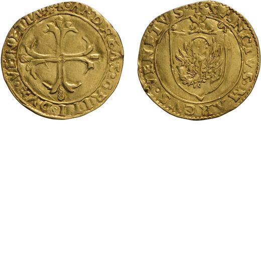 ZECCHE ITALIANE. VENEZIA. ANDREA GRITTI (1523-1538). SCUDO DORO Oro, 3,19 gr, 24 mm. BB+<br>D: + AND