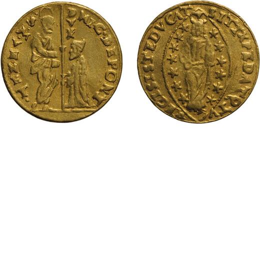 ZECCHE ITALIANE. VENEZIA. NICOLÒ DA PONTE (1578-1585). ZECCHINO Oro, 3,45 gr, 20 mm. qBB<br>D: NIC