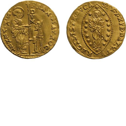 ZECCHE ITALIANE. VENEZIA. FRANCESCO MOROSINI (1688-1694). ZECCHINO Oro, 3,48 gr, 21 mm, BB+<br>D: FR