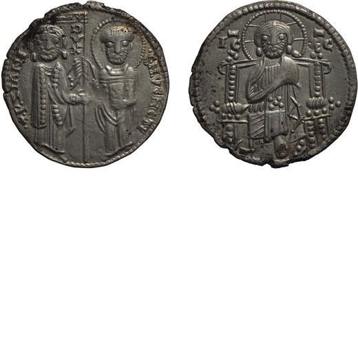ZECCHE ITALIANE. VENEZIA. PIETRO ZIANI (1205-1229). GROSSO Argento, 2,05 gr, 20 mm. qBB<br>D: P ZIAN