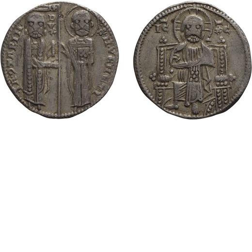 ZECCHE ITALIANE. VENEZIA. IACOPO CONTARINI (1275-1280). GROSSO Argento, 2,10 gr, 20 mm. BB<br>D: IA