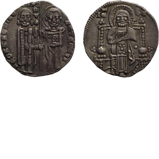 ZECCHE ITALIANE. VENEZIA. PIETRO GRADENIGO (1289-1311). GROSSO Argento, 2,18 gr, 19 mm. BB<br>D: PE