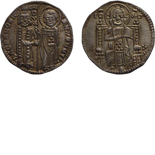 ZECCHE ITALIANE. VENEZIA. BARTOLOMEO GRADENIGO (1339-1342). GROSSO Argento, 2,16 gr, 20 mm. BB<br>D: