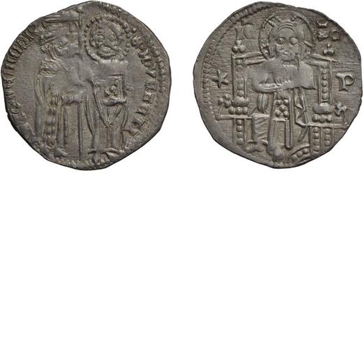 ZECCHE ITALIANE. VENEZIA. ANTONIO VENIER (1382-1400). GROSSO SECONDO TIPO Argento, 1,98 gr, 21 mm. B