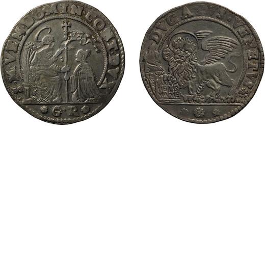 ZECCHE ITALIANE. VENEZIA. DOMENICO CONTARINI (1659-1675). DUCATO  Argento, 22,74 gr, 39 mm. qBB<br>D