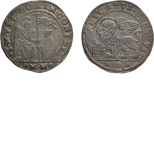 ZECCHE ITALIANE. VENEZIA. DOMENICO CONTARINI (1659-1675). DUCATO  Argento, 22,73 gr, 39 mm. BB<br>D:
